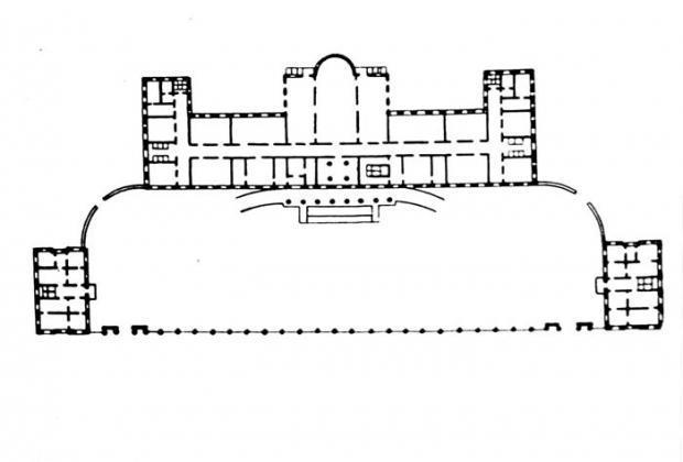 Главный корпус (начало)
