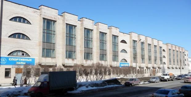 Первый медицинский институт им. И.П.Павлова .  Общежитие N 4 . Спортивно-оздоровительный комплекс...