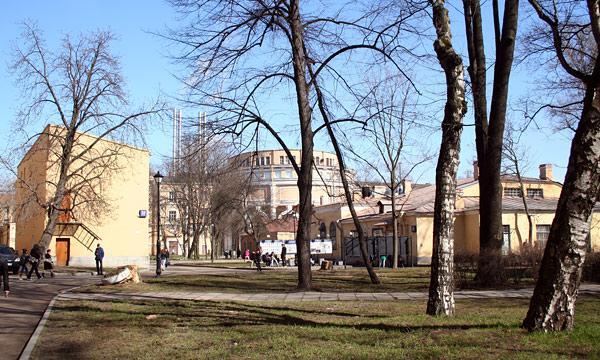 Первый медицинский институт им. И. П. Павлова .  Столовая.  Фотография 3 из 3.